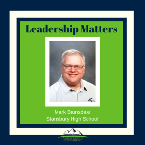 Mark Brunsdale - Stansbury High Assistant Principal
