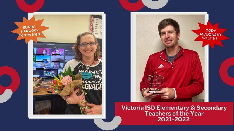 Victoria ISD Teachers of the Year Announced Thumbnail Image