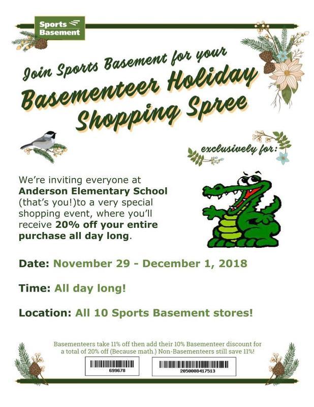 Sports Basement Holiday Shopping 20% Off Thumbnail Image