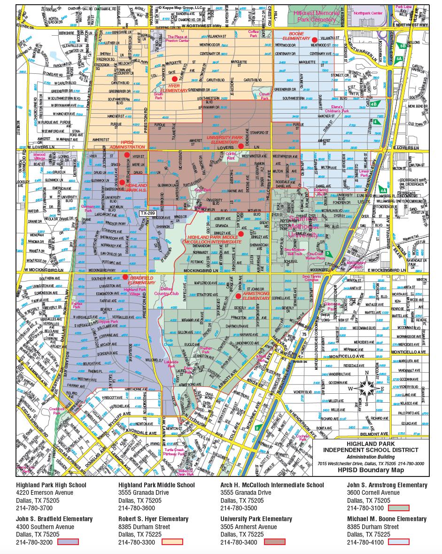 2020-21 boundary map