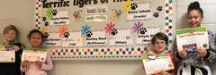 November's Terrific Tigers of the Month!