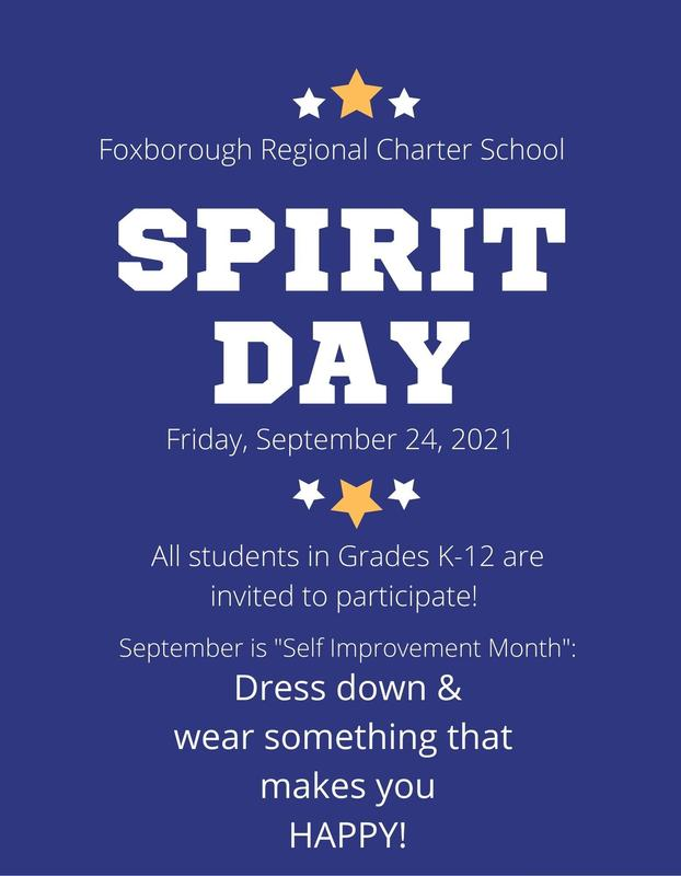 District Wide Spirit Day to be Held Friday, September 24th! Featured Photo