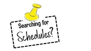 Student Schedule Info