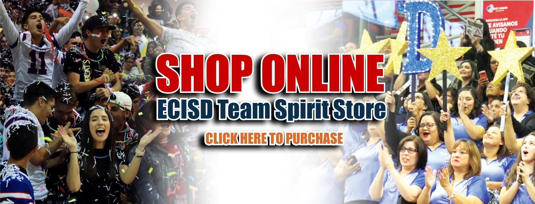 ECISD Team Spirit Online Store