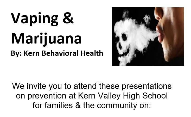 Vaping & Marijuana by Kern Behavior Health Thumbnail Image