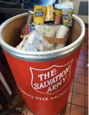 Salvation Army Collection Bin