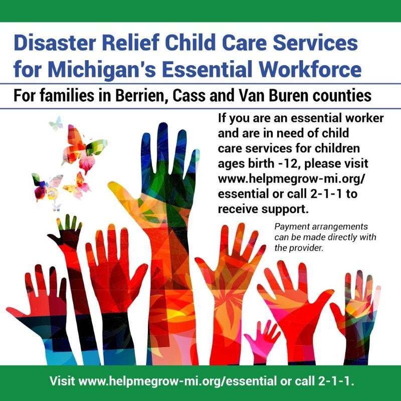 Child Care Social Media Badge Poster