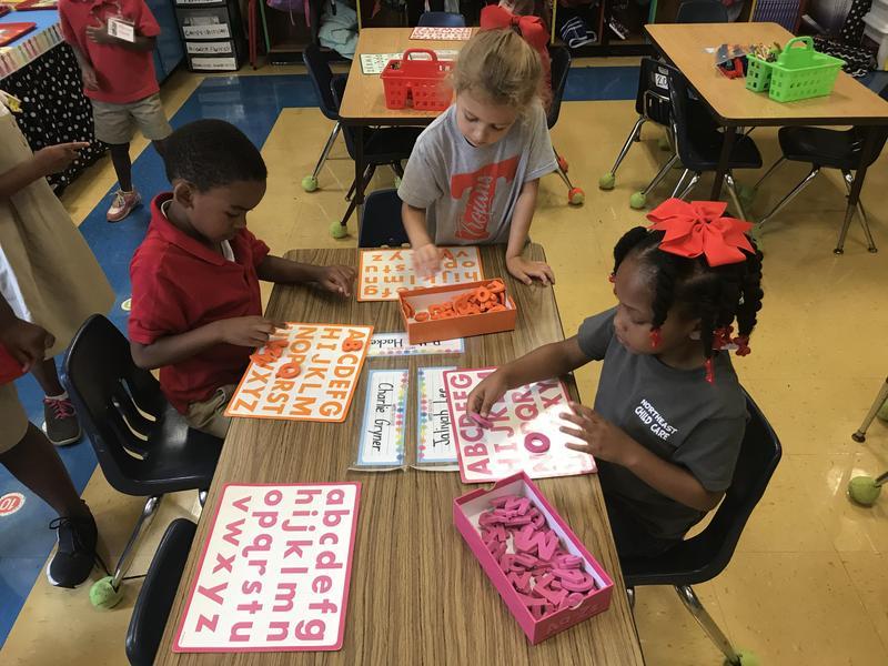 Northeast Elementary Kindergarten Students
