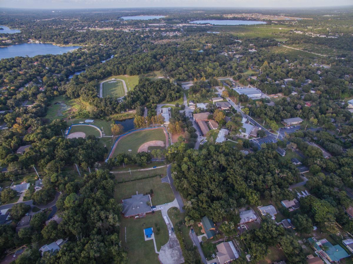 70 acre campus