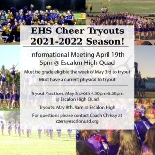21-22 Cheer Information