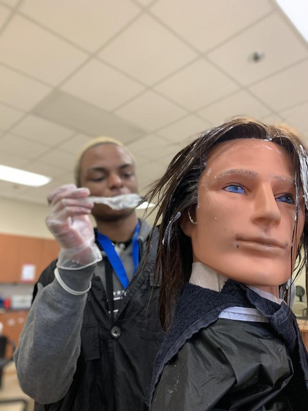 Mrs. York and cosmetology