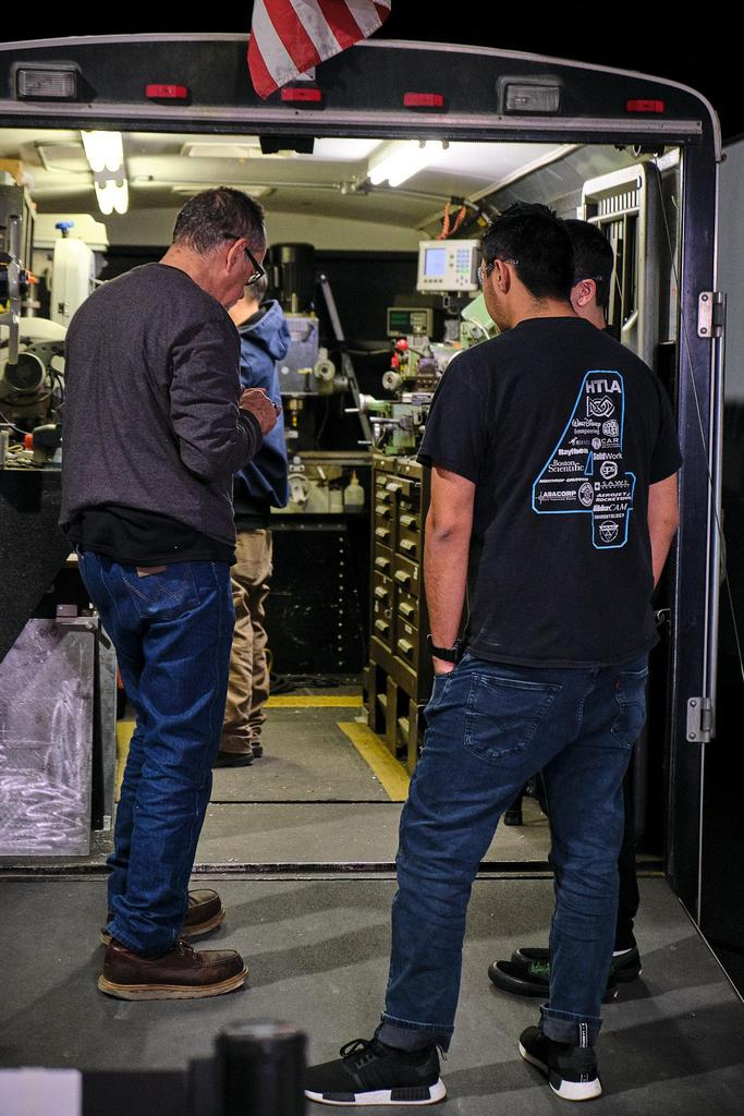 The Holy Cows (FRC 1538) has helped hundreds of teams with their mobile machine shop. It is a fixture at SoCal events