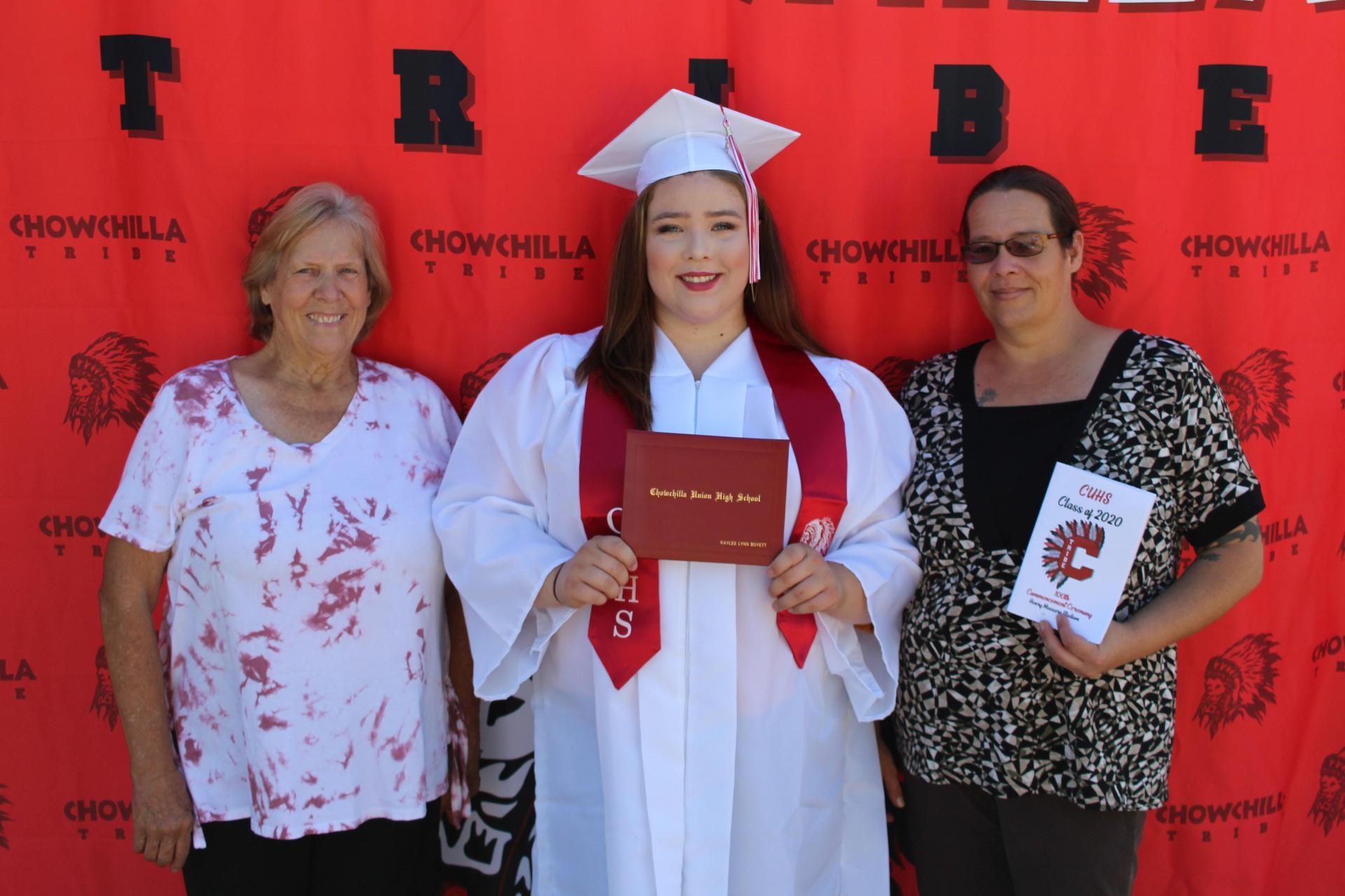Kaylee Boyett and family