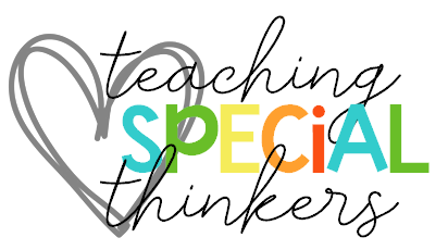 Teaching Special Thinkers - Ideas, Tips, & Activities for Special ...