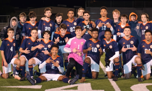 BCHS Boys Soccer Team victory over Caddo Magnet  1-0