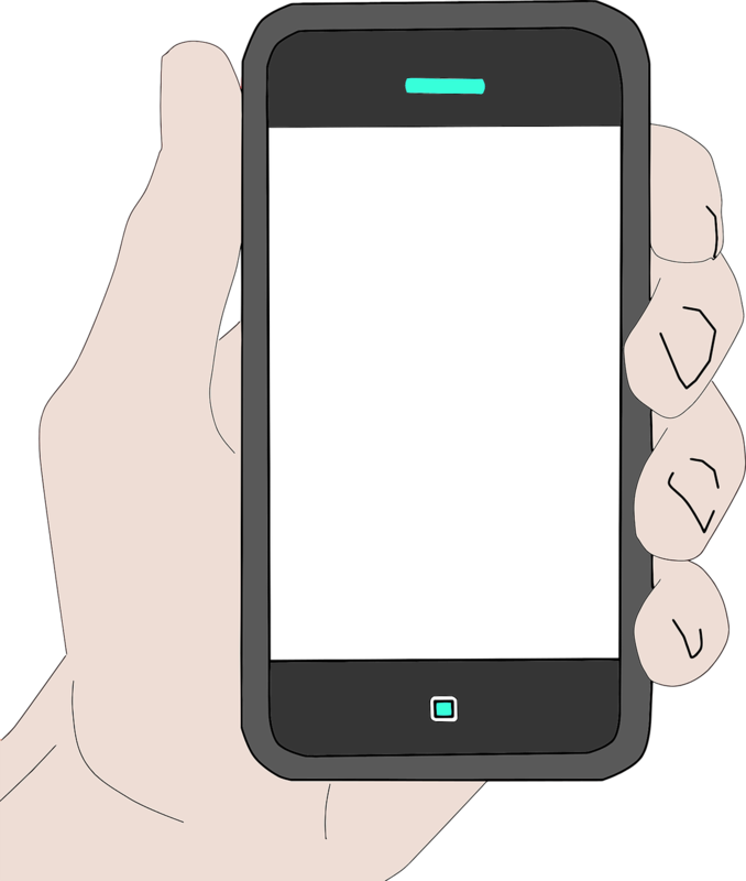 graphic of a smartphone