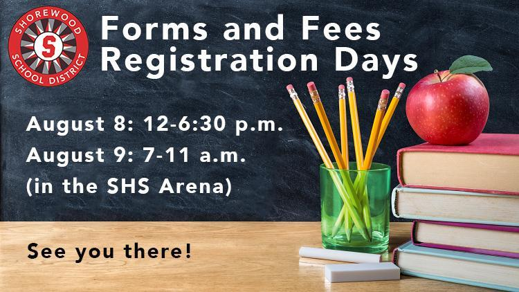 forms and fees dates