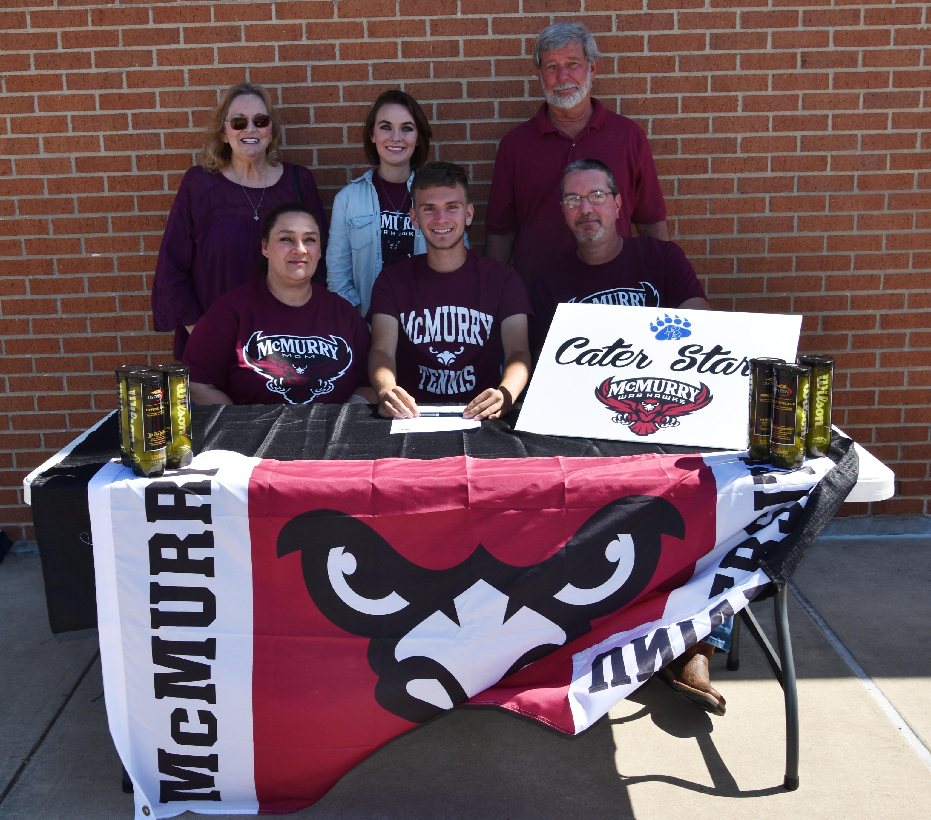 Brewer Senior Cater Starr to Play Tennis at McMurry University