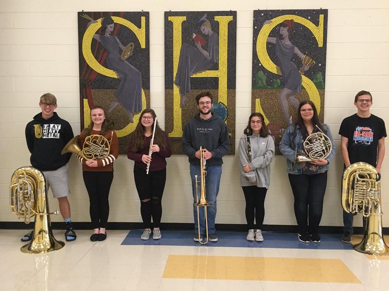 Congratulations to our 2020 All-Mid-State Band Members: Jacob Watson, Emily Sholar, Kylie Conner, Nate Humphreys, Lauren Glaeser, Kendall Smith, & Isaac Dortch.