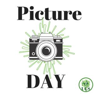 Picture Day Announcement with Camera Graphic