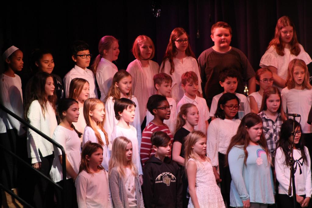 5th Grade WInter Concert 2018