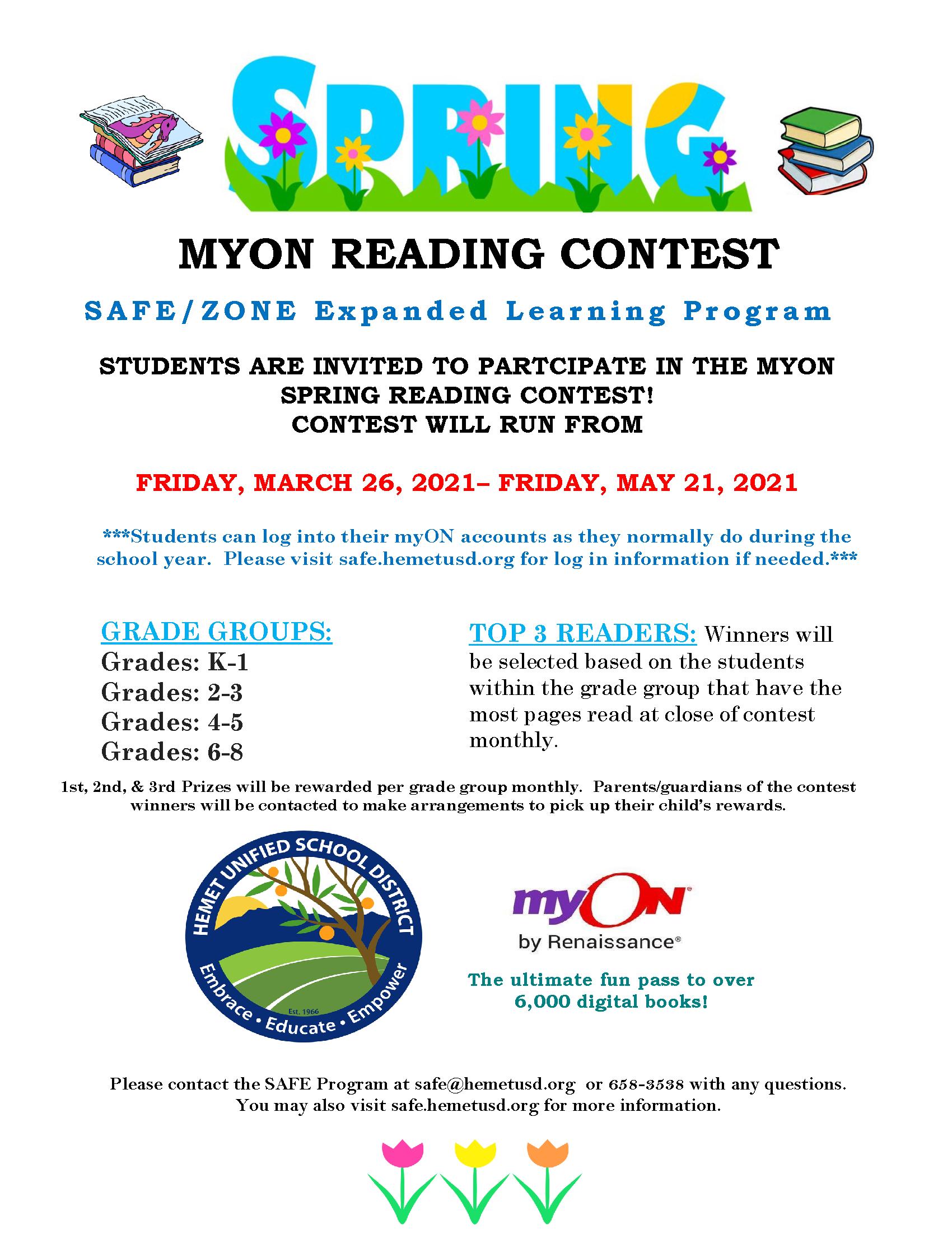 MyOn Contest