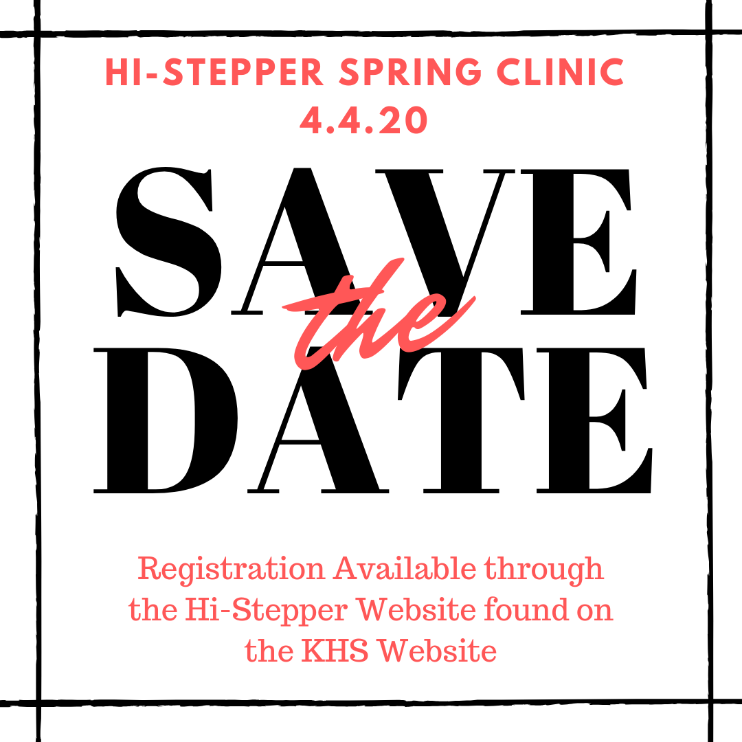 Spring Clinic Save the Date