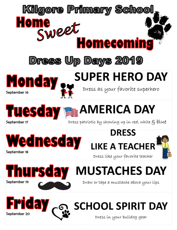 SPIRIT WEEK - September 16 - September 20 Featured Photo