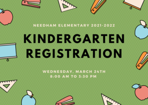 Kindergarten Registration graphic