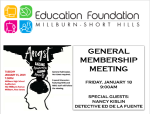Angst Screening Millburn Short Hills Ed Foundation