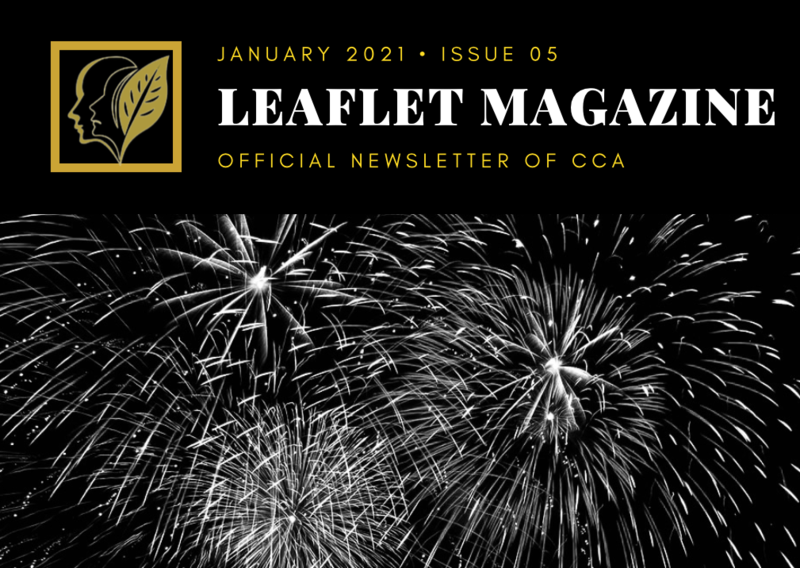 The cover for January's CCA Leaflet Magazine.