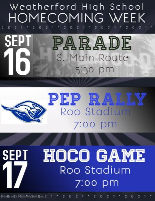 Homecoming Week Activities Featured Photo