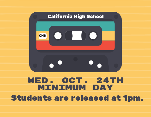 Minimum Day - Wed. Oct. 24th Featured Photo