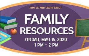 Parent Workshop on Family Resources