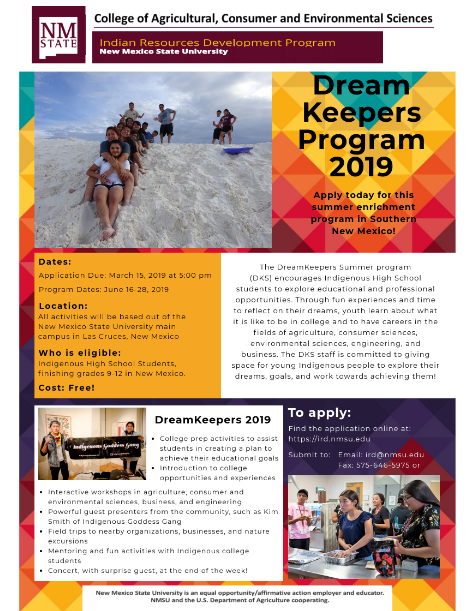 DreamKeepers Summer Program Featured Photo