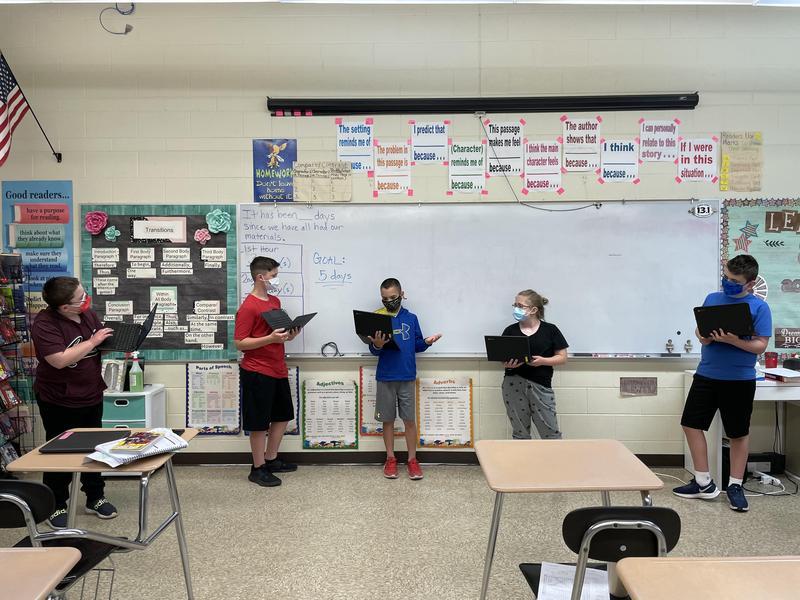 Acting in Mrs Traxler's Class