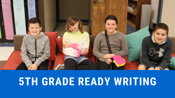 5th ready writing