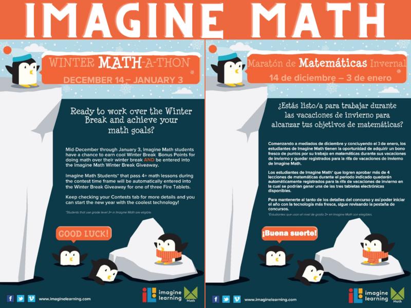 Imagine Math Winter Math-A-Thon