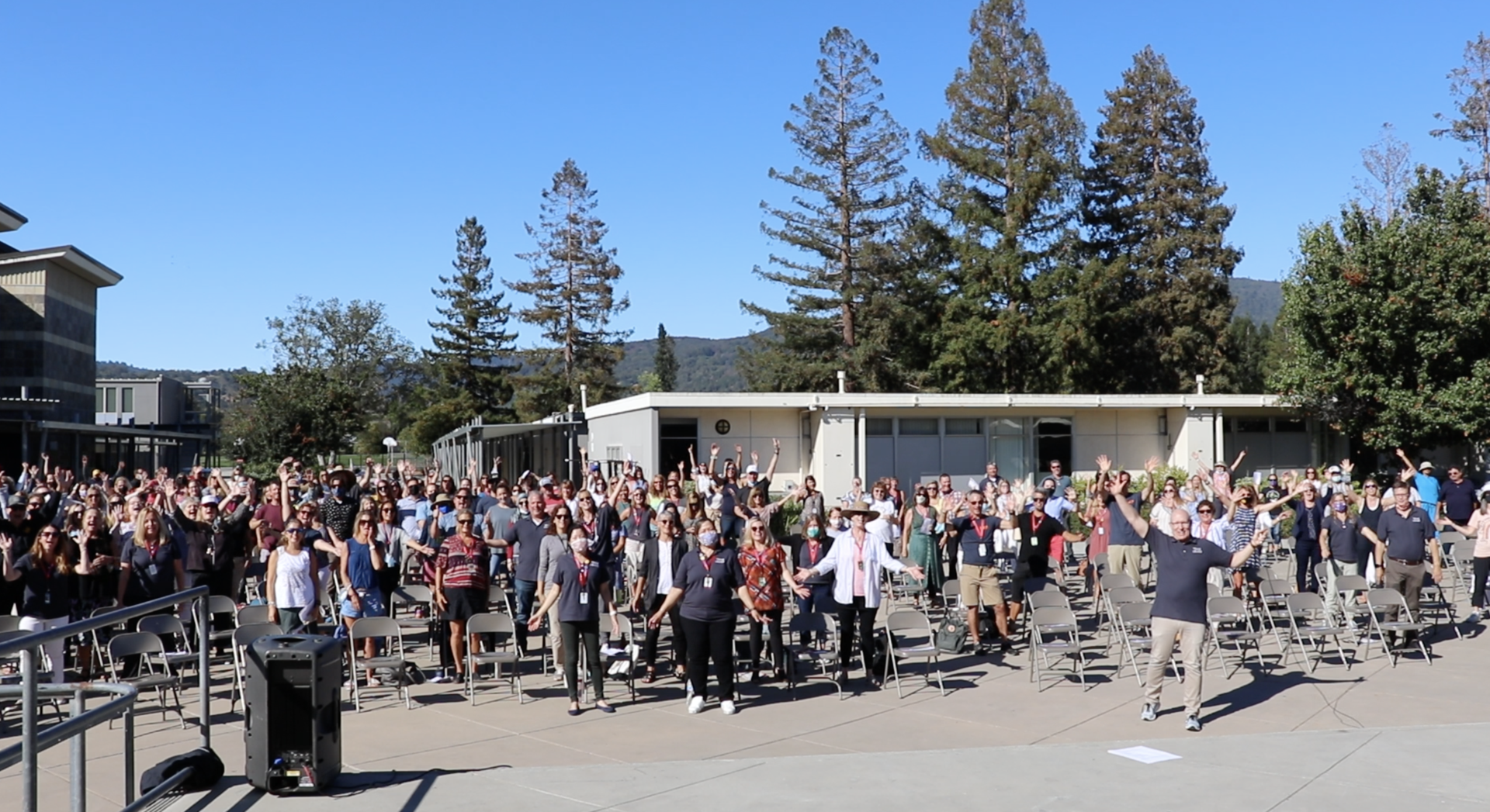 photo of staff on opening day
