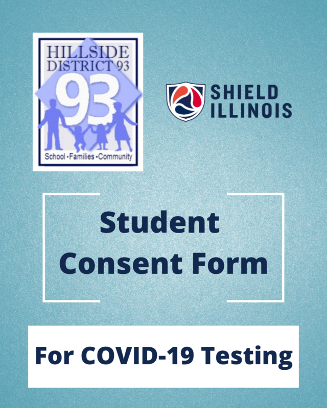 Student Consent Form for COVID-19 Testing