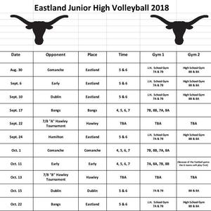 Jr high volleyball sched revised.JPG