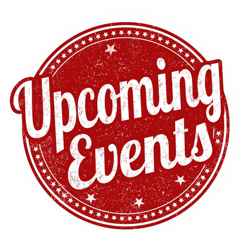 Upcoming Events! Featured Photo