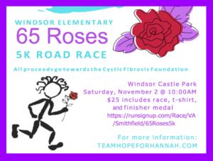65 Roses 5K