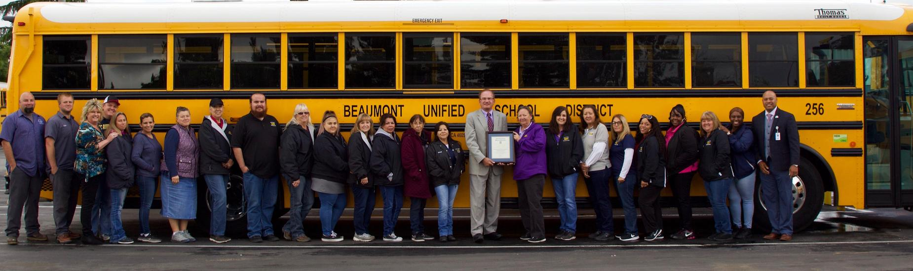 Riverside County Office of Education Showing Appreciation for our Outstanding Bus Drivers & Transportation Support Team