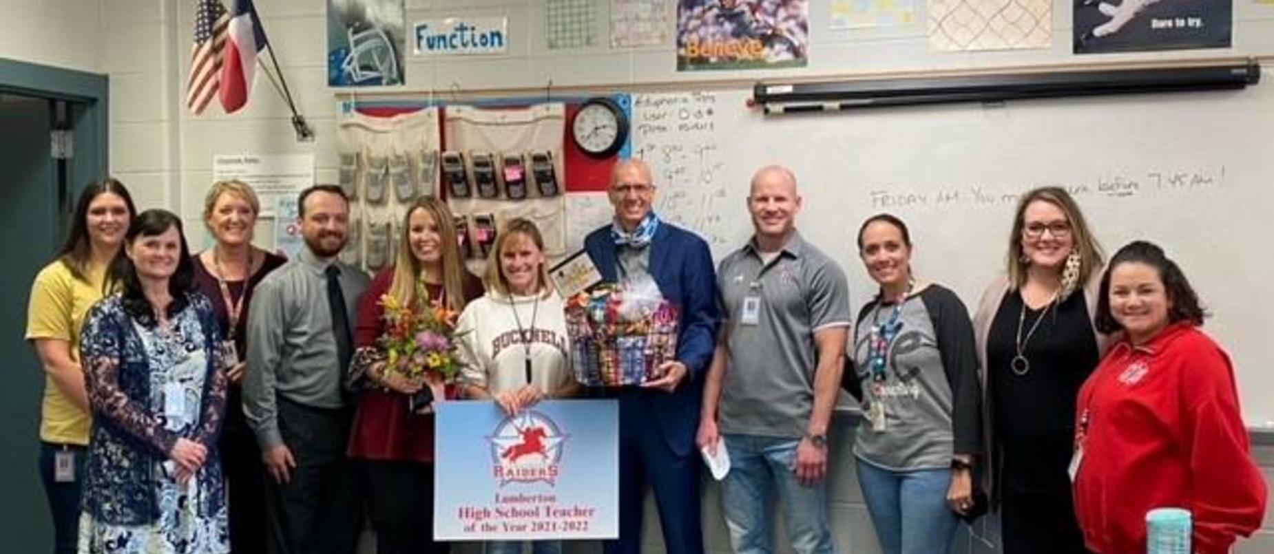 Congratulations Ms. McLain