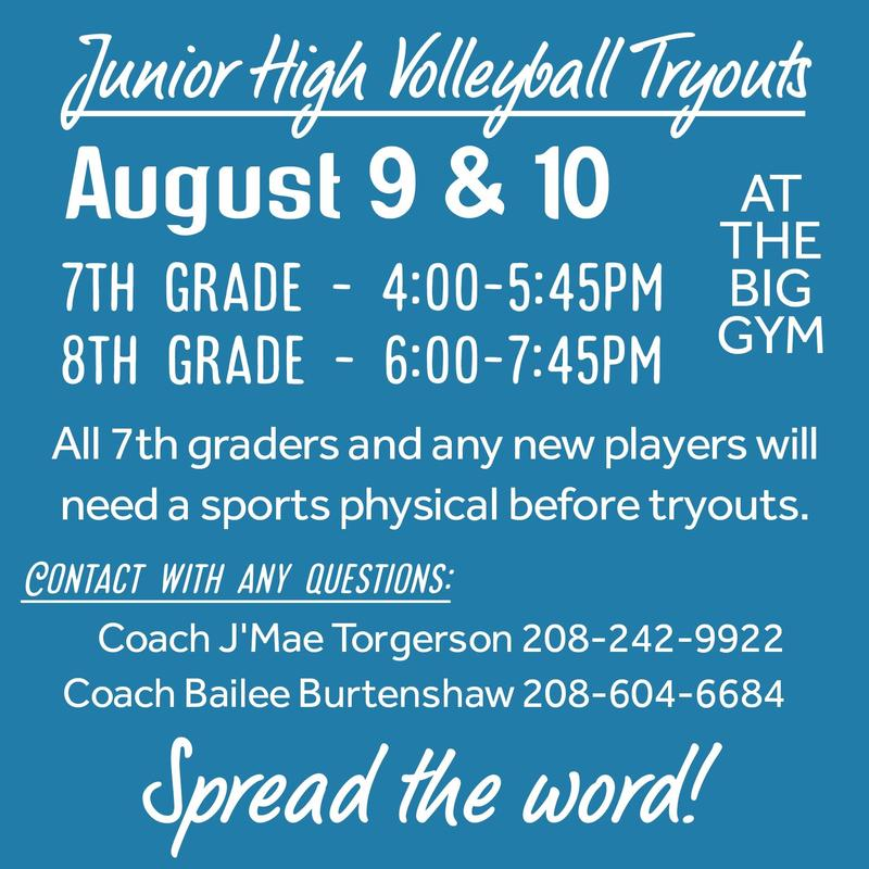 JHVB Tryouts