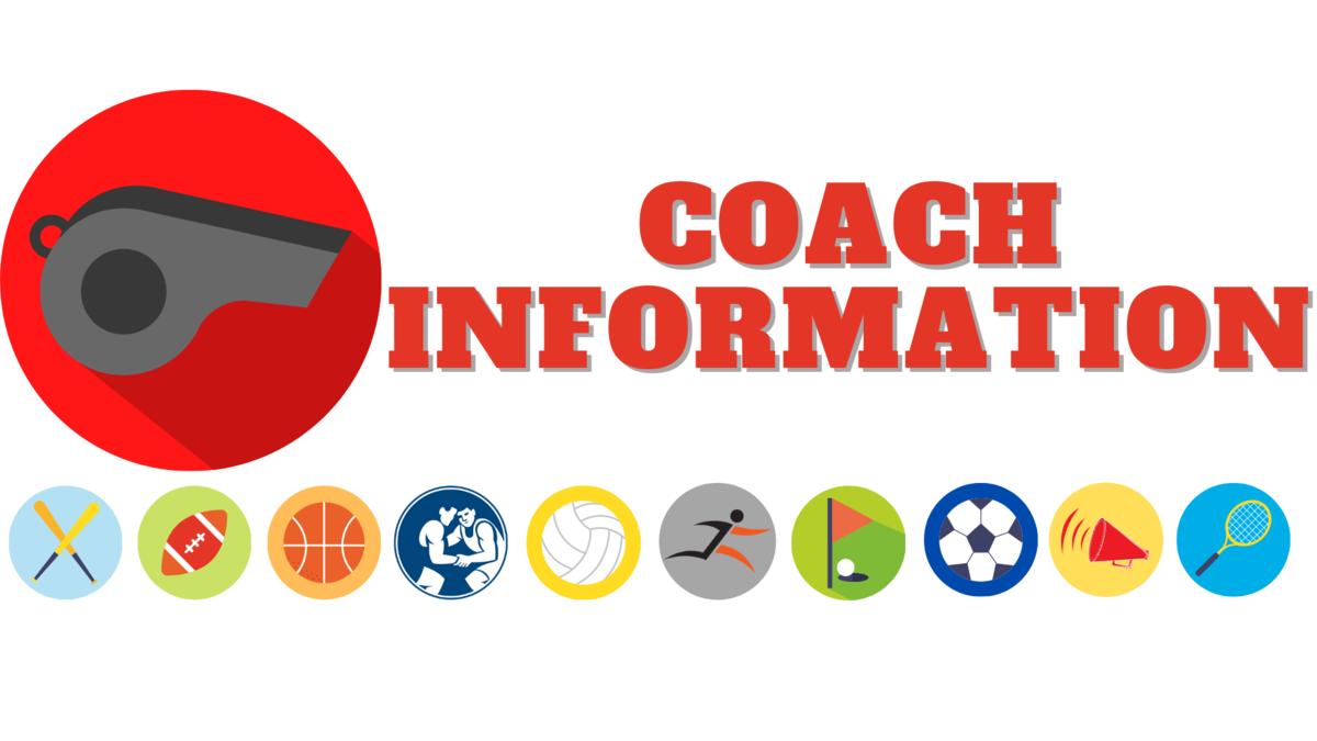 Coach Information Banner