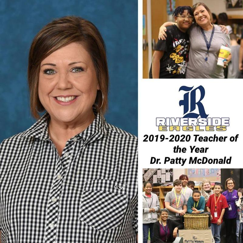 Congratulations Dr. Patty McDonald, 2020-2021 RMS Teacher of the Year! Featured Photo