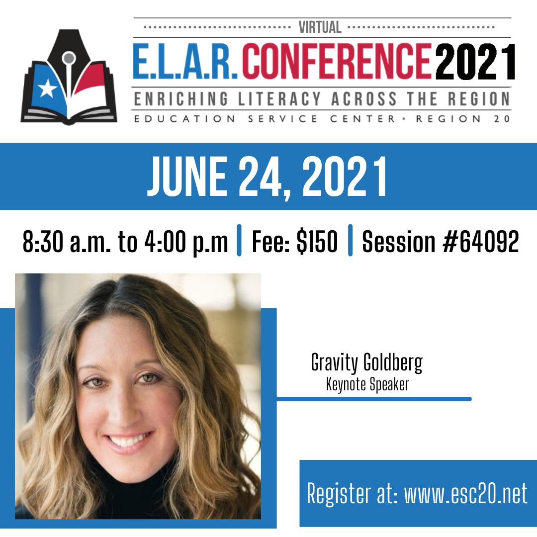 Region 20 E.L.A.R. Conference Flyer