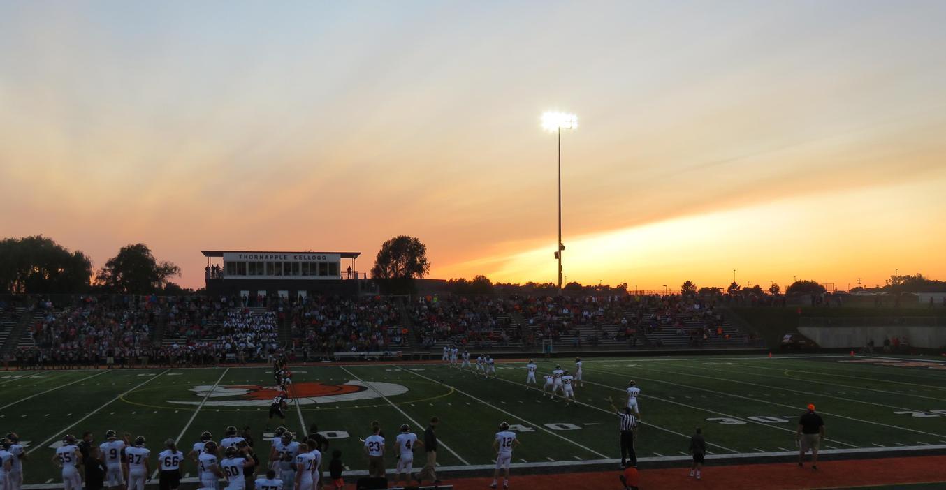 Thornapple Kellogg High School Bob White stadium.